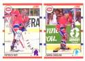 1990-91 Score Canadian Hockey Team Set - Montreal Canadiens
