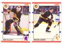 1990-91 Score Canadian Hockey Team Set - Vancouver Canucks