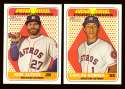 2018 Topps Heritage New Age Performers - HOUSTON ASTROS