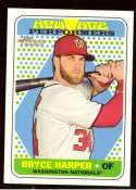 2018 Topps Heritage New Age Performers - WASHINGTON NATIONALS