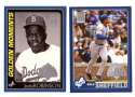 2001 Topps Opening Day - LOS ANGELES DODGERS Team Set