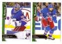 2016-17 Parkhurst Hockey Team Set - New York Rangers