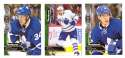 2016-17 Parkhurst Hockey Team Set - Toronto Maple Leafs