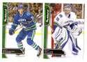 2016-17 Parkhurst Hockey Team Set - Vancouver Canucks