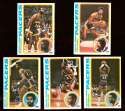 1978-79 Topps Basketball Team Set - Indiana Pacers