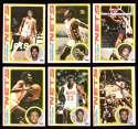 1978-79 Topps Basketball Team Set - New Jersey Nets