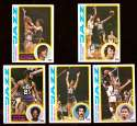 1978-79 Topps Basketball Team Set - New Orleans Jazz