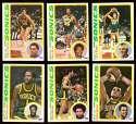 1978-79 Topps Basketball Team Set - Seattle Supersonics