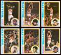 1978-79 Topps Basketball Team Set - Washington Bullets