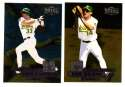 1998 METAL UNIVERSE - OAKLAND ATHLETICS / A'S Team Set