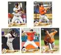2018 Topps Pro Debut - BALTIMORE ORIOLES Team Set (5 Cards)