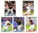 2018 Topps Pro Debut - CLEVELAND INDIANS Team Set (5 Cards)