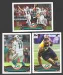 2013 Topps Mini Football Team Set - MIAMI DOLPHINS