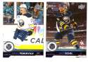 2017-18 Upper Deck Hockey (Base) Team Set - Buffalo Sabres