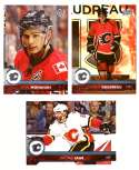 2017-18 Upper Deck Hockey (Base) Team Set - Calgary Flames
