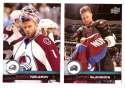 2017-18 Upper Deck Hockey (Base) Team Set - Colorado Avalanche