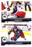 2017-18 Upper Deck Hockey (Base) Team Set - Columbus Blue Jackets