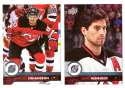 2017-18 Upper Deck Hockey (Base) Team Set - New Jersey Devils