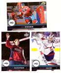 2017-18 Upper Deck Hockey (Base) Team Set - Washington Capitals
