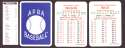 1933 APBA Season (from 2O12 No Envelope) - BROOKLY DODGERS Team Set