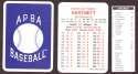 1933 APBA Season (from 2O12 No Envelope) - CHICAGO CUBS Team Set