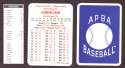 1933 APBA Season (from 2O12 No Envelope) - CHICAGO WHITE SOX Team Set