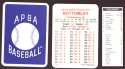 1933 APBA Season (from 2O12 No Envelope) - CINCINNATI REDS Team Set