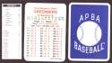 1933 APBA Season (from 2O12 No Envelope) - DETROIT TIGERS Team Set