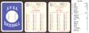1930 APBA Reprint Season - NEW YORK YANKEES Team Set