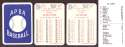 1930 APBA Reprint Season - ST LOUIS BROWNS (ORIOLES) Team Set