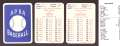 1930 APBA Reprint Season - WASHINGTON SENATORS (Twins) Team Set