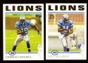 2004 Topps Gold Letter Football Team Set - DETROIT LIONS