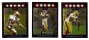 2008 Topps Chrome (Base 1-165) Football Team Set - SAN FRANCISCO 49ERS