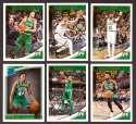 2018-19 Donruss Basketball Team Set - Boston Celtics (6 Cards)