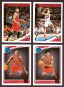 2018-19 Donruss Basketball Team Set - Chicago Bulls (7 Cards)