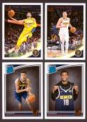 2018-19 Donruss Basketball Team Set - Denver Nuggets (7 Cards)