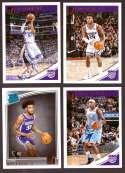 2018-19 Donruss Basketball Team Set - Sacramento Kings (6 Cards)