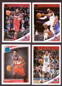 2018-19 Donruss Basketball Team Set - Washington Wizards (6 Cards)