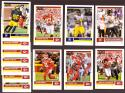 2017 Score Football Team Set - Kansas City Chiefs  - 13 Cards w/ Mahomes RC
