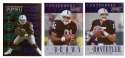1995 Playoff Contenders Football Team Set - OAKLAND RAIDERS