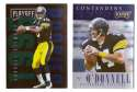 1995 Playoff Contenders Football Team Set - PITTSBURGH STEELERS
