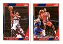 2016-17 Hoops Basketball Team Set - Washington Wizards