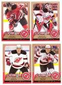 2008-09 O-Pee-Chee OPC Hockey (Base 1-500) Team Set - New Jersey Devils