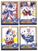 2008-09 O-Pee-Chee OPC Hockey (Base 1-500) Team Set - New York Rangers