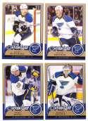 2008-09 O-Pee-Chee OPC Hockey (Base 1-500) Team Set - St. Louis Blues