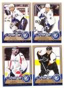2008-09 O-Pee-Chee OPC Hockey (Base 1-500) Team Set - Tampa Bay Lightning