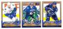 2008-09 O-Pee-Chee OPC Hockey (Base 1-500) Team Set - Vancouver Canucks