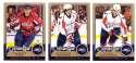 2008-09 O-Pee-Chee OPC Hockey (Base 1-500) Team Set - Washington Capitals