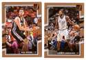 2017-18 Donruss Basketball Team Set - San Antonio Spurs