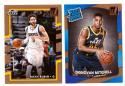 2017-18 Donruss Basketball Team Set - Utah Jazz